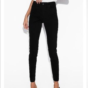 Express Black Jean Leggings